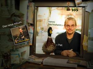Henni Nachtsheim, CDs und Website